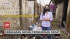 VIDEO: Kebakaran Ancam Permukiman Padat
