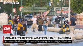VIDEO: Yogyakarta Diserbu Wisatawan dari Luar Kota