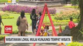 VIDEO: Wisatawan Lokal Mulai Kunjungi Tempat Wisata