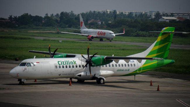 Sejumlah maskapai, lewat online travel agent, terpantau masih menawarkan kursi penerbangan ke berbagai rute pada periode larangan mudik 6-17 Mei 2021.