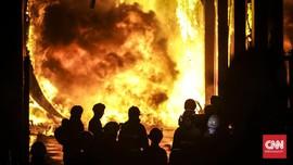 Asrama Brimob Sumut Kebakaran, Kerugian Ditaksir Ratusan Juta