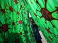 FOTO: Batik Corona dan Kreativitas Kaum Disabilitas