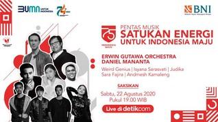 LIVE: Pentas Musik Satukan Energi, Kado Istimewa Bagi Negeri