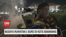 VIDEO: Budaya Ruwatan 1 Suri di Kota Semarang