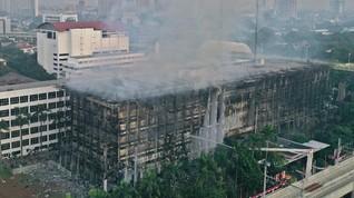 Polri: Kebakaran di Kejagung Bukan Akibat Korsleting Listrik