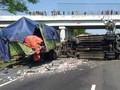 Kecelakaan Tol Cipali: Bus Hantam Truk, 4 Tewas 11 Luka