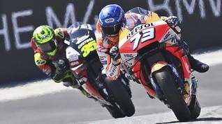 MotoGP Aragon: Alex Marquez Sebut Dovizioso Binatang Buas