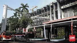 Polisi Periksa Dua Kasubag soal Kebakaran Kejagung