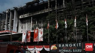 Polisi Amankan 24 CCTV untuk Ungkap Pemicu Kebakaran Kejagung