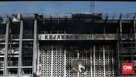 Diperiksa 9 Jam, Tersangka Kebakaran Kejagung Belum Ditahan