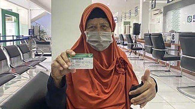 Sudiati yang berusia 74 tahun mengaku merasakan manfaat dari Program JKN-KIS yang digelar BPJS Kesehatan.