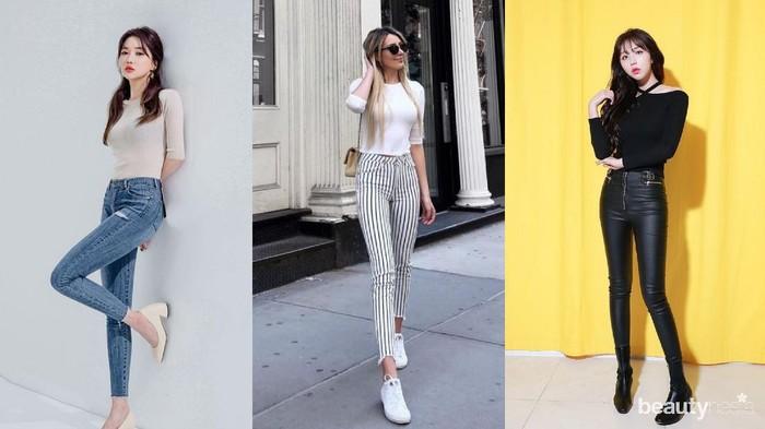5 Model Celana Wanita agar Terlihat Lebih Tinggi Bak Model