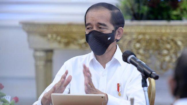 Pasien terkonfirmasi positif Covid-19 tembus 200 ribu kasus. Jokowi menyatakan fokus pemerintah mengutamakan kesehatan.
