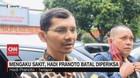 VIDEO: Mengaku Sakit, Hadi Pranoto Batal Diperiksa