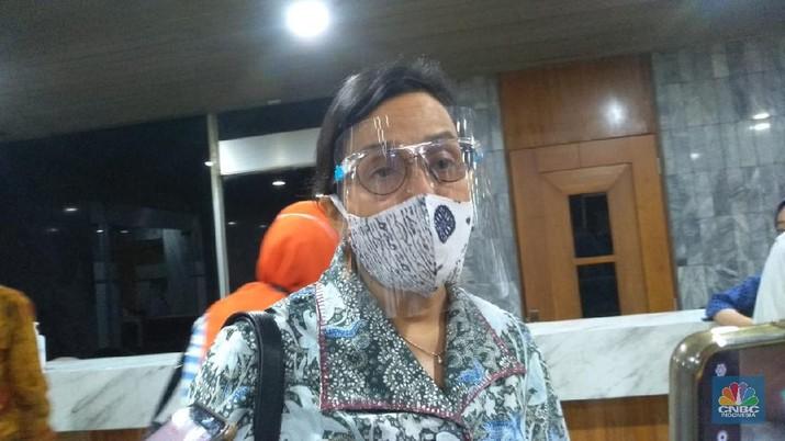 Sri Mulyani (CNBC Indonesia/Cantika Dinda)