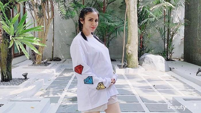 Makin Cantik dan Glowing, Momo Geisha Hamil Anak Kedua