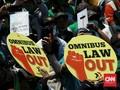Buruh Tolak Ikut Bahas Aturan Turunan Omnibus Law Cipta Kerja