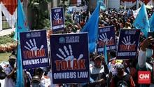 Tolak RUU Cipta Kerja, Buruh Ancam Mogok Nasional