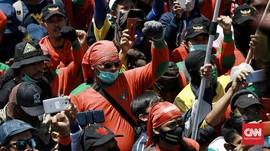 Demo Buruh Tolak Omnibus Law Meluas dari DKI hingga Medan