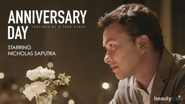 Penampilan Nicholas Saputra di Anniversary SADA Bikin Baper!