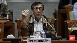 Canda Yasonna Laoly Sebut AHY Masih Lama Jadi Presiden