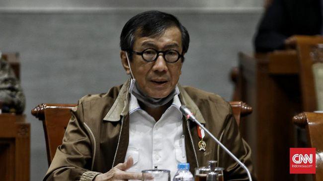 Menkumham Yasonna ingin RKUHP dan RUU Permasyarakatan masuk Prolegnas Prioritas 2021. Pemerintah dan DPR telah rapat membahas dua RUU.
