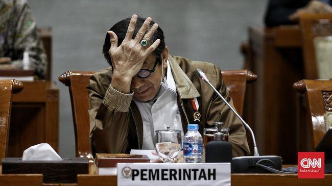 Menkumham Yasonna Laoly menolak pengajuan kepengurusan Partai Demokrat kubu Moeldoko yang merupakan hasil KLB Sumut.