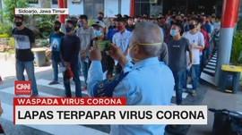 VIDEO: Lapas Terpapar Virus Corona