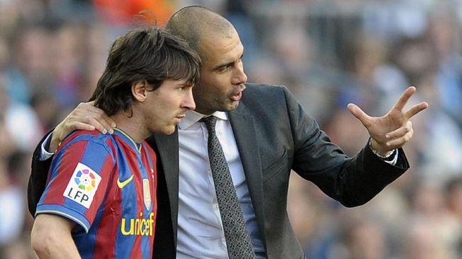 Pep Guardiola benar-benar belum bisa lepas kutukan gagal juara Liga Champions tanpa Lionel Messi.