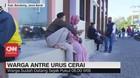 VIDEO: Viral Ratusan Warga Antre Urus Cerai