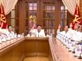 VIDEO: Dikabarkan Koma, Kim Jong-un Muncul Pimpin Rapat