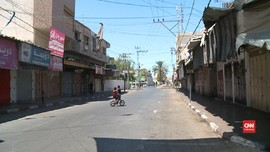 VIDEO: Suasana Lockdown di Gaza akibat Infeksi Covid-19