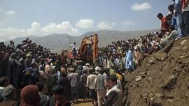 FOTO: Pedalaman Afghanistan Diterjang Banjir Bandang
