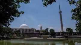 FOTO: Renovasi Masjid Istiqlal Rampung