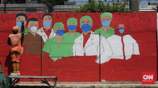 Total kasus positif di Jakarta sejak awal pandemi pada Maret lalu sampai saat ini sebanyak 68.927 kasus.