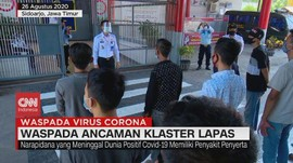 VIDEO: Waspada Ancaman Klaster Covid-19 Lapas