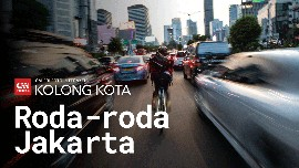 Kolong Kota: Roda-roda Jakarta