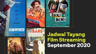 INFOGRAFIS: Jadwal Tayang Film Streaming September 2020