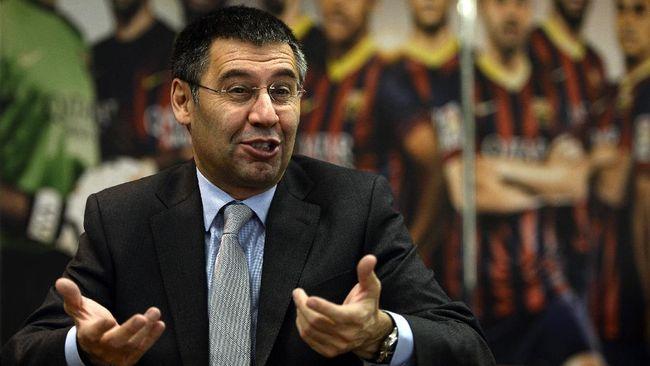 Mantan presiden Barcelona Josep Bartomeu ditangkap kepolisian Catalunya terkait kasus penyelewengan dana yang terkenal dengan BarcaGate.