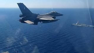 Turki Tuduh Yunani Kirim Jet Tempur ke Laut Mediterania