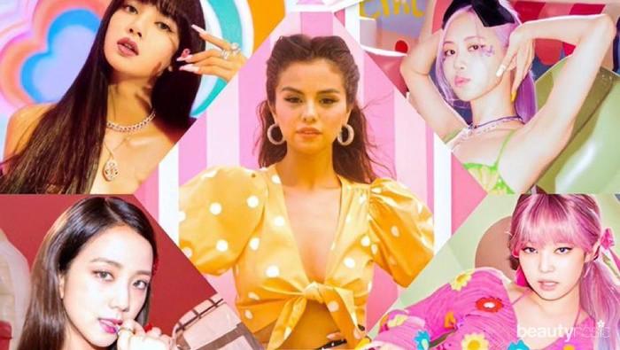 Tampil Playfull dan Sweet, Begini Fakta Kolaborasi Blackpink X Selena Gomez di Single Terbaru Ice Cream