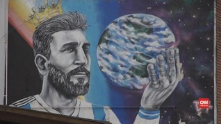 VIDEO: Ratusan Suporter Newell's Rayu Messi Kembali