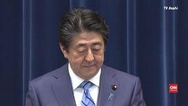 VIDEO: PM Jepang Shinzo Abe Resmi Mundur
