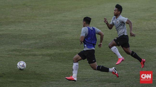 Amiruddin Bagas Kaffa menceritakan perjuangan keras meraih kepercayaan di skuad Timnas Indonesia U-19 arahan Shin Tae Yong.