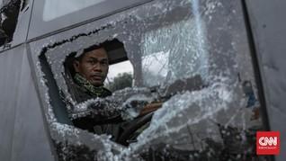 21 Tersangka Perusakan Polsek Ciracas Pengemudi TNI AD