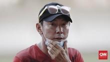 Shin Tae Yong ke Pemain Timnas: Passing Jangan Banyak Gaya