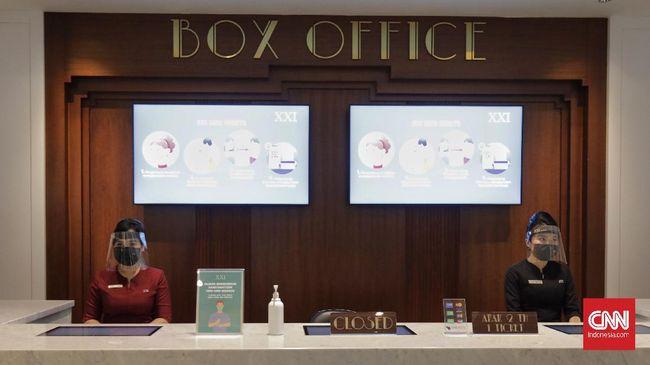 Jaringan bioskop Cinema XXI menunda pembukaan bioskop meski sudah mengantongi izin dari Disparekraf Pemerintah Provinsi DKI Jakarta.