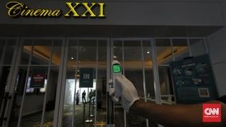 Cinema XXI Belum Buka Bioskop di Bandung
