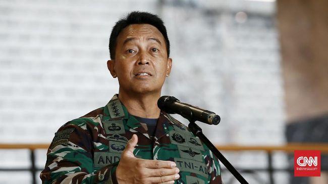 KSAD Jenderal TNI Andika Perkasa menyebut anggota Kopassus yang dikeroyok di Jaksel mengalami keretakan pada bagian tengkorak.