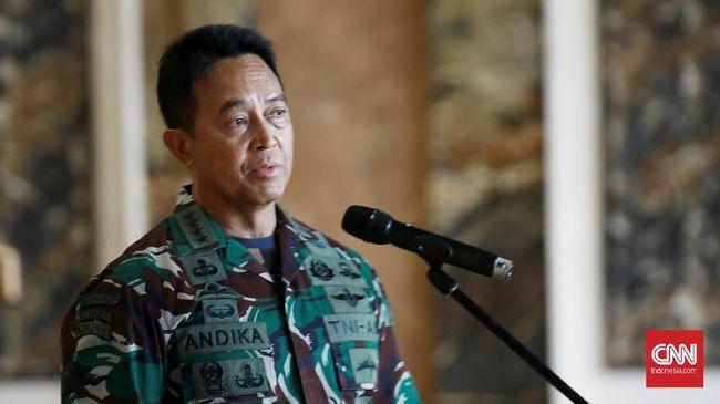KSAD Jenderal TNI Andika Perkasa meresmikan Smart Instalasi Tahanan Militer berkapasitas 83 orang di Markas Pomdam Jaya, Jalan Guntur, Jakarta Selatan.